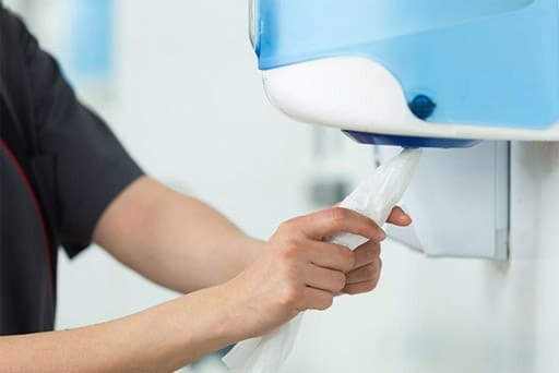 TotaalTextiel - Bedrijfshygiene - handoekautomaten