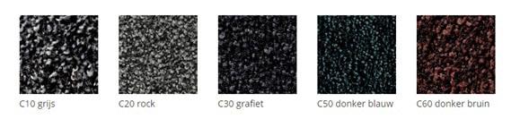 Totaal Textiel - Droogloopmatten voor binnen, kleuren