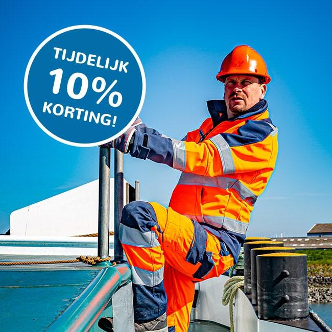 Totaal Textiel - werkkleding voor visserij en haven.