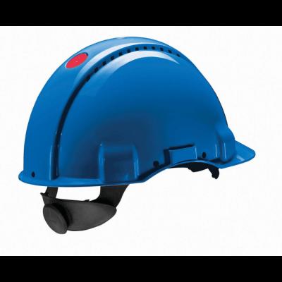 3M Peltor G3000N extra ventilerende veiligheidshelm met 180° omkeerbaar binnenwerk blauw