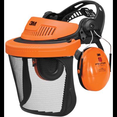 Totaal Textiel - Gezichtsbescherming 3M Peltor G500 5C hoofd gelaat gehoorbescherming