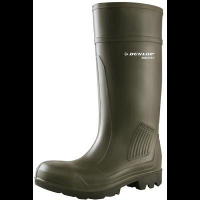 Totaal Textiel - Werklaarzen - Dunlop Purofort Groen Veiligheidslaars S5