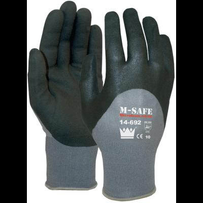 Totaal Textiel - Handbescherming M-Safe Nitrile Foam werkhandschoenen