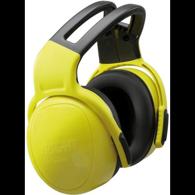 MSA left-RIGHT SNR33 geel hoofdband