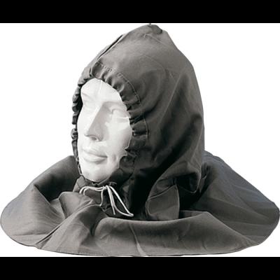 Totaal Textiel - Hoofdbescherming Nerfleder Monnikenkap vlamvertragend