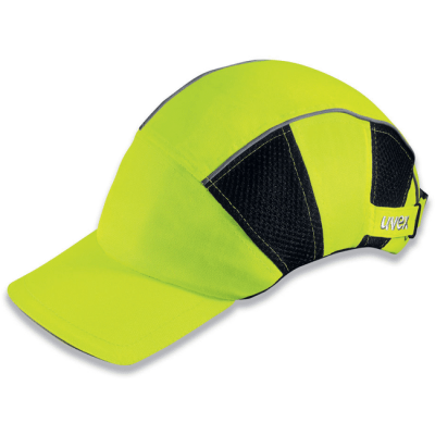 Totaal Textiel - Hoofdbescherming Uvex Cap HiVis 9794 800 werkhelm